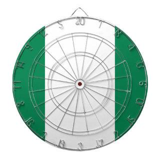 Nigerian flag dart boards