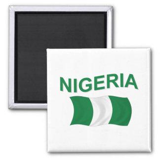 Nigerian Flag Magnet