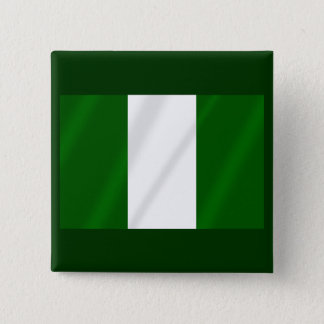 Nigerian flag of Nigeria shirts and presents 2 Inch Square Button