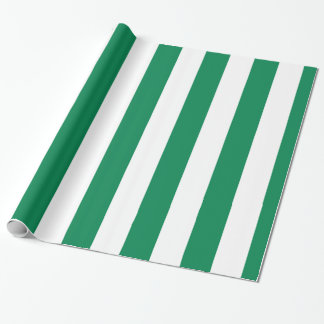 Nigerian flag wrapping paper