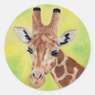 Nigerian giraffe sticker