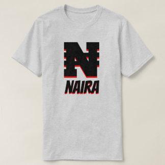 ₦ Nigerian Naira, Grey T-Shirt