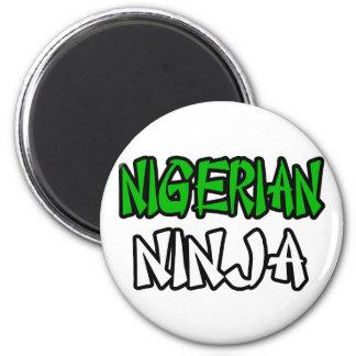 Nigerian Ninja Magnet