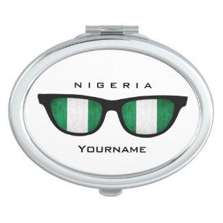 Nigerian Shades custom pocket mirror Mirror For Makeup