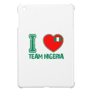 Nigerian sport designs iPad mini case