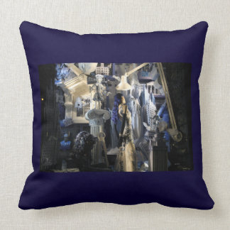 Night At Bergdorf's - NYC - by Madeline Ellis Pillows
