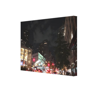 Night at Lincoln Center NYC New York Photography Canvas Print