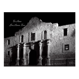 Night at the Alamo Postcard