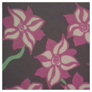 Night Blooming Dahlia Fabric