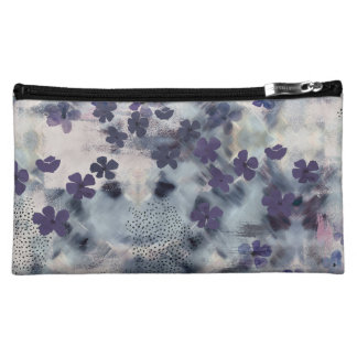 Night Blossom Floral Cosmetics Bag Cosmetic Bag