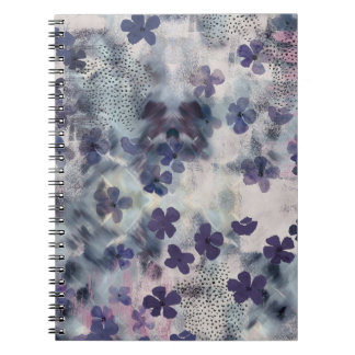 Night Blossom Floral Norebook Notebooks