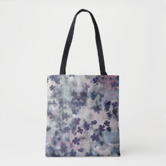 Night Blossom Floral Tote