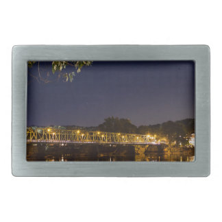 Night Bridge Rectangular Belt Buckles