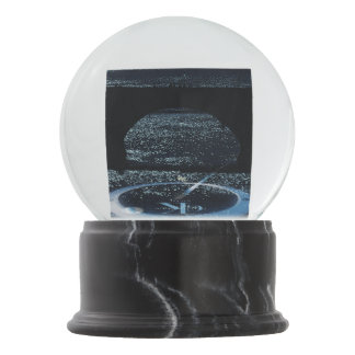 Night Bridge Snow Globe