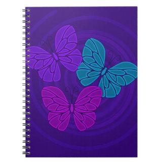 Night butterflies Notebook