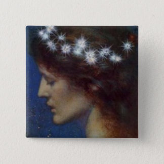 Night by Henri Georges (1897) 2 Inch Square Button