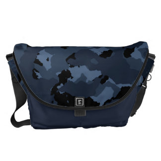 Night Camo Commuter Bags