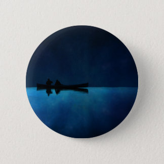 Night Canoe 2 Inch Round Button