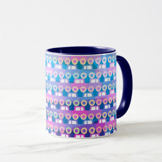 Night Car Traffic Pattern Mug