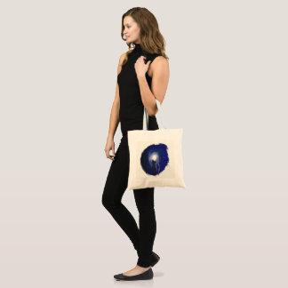 Night cat tote bag