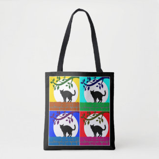 Night Cats Tote Bag
