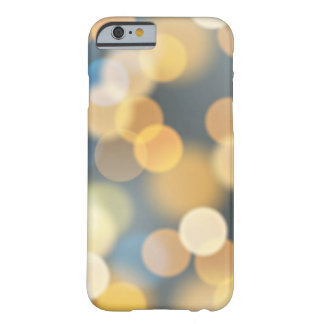 Night city blur illumination lights barely there iPhone 6 case