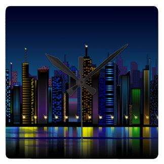 night city clock
