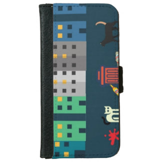 night city iphone case wallet