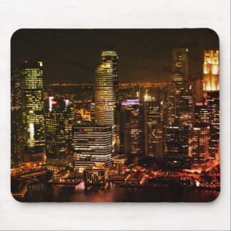 Night City Mouse Mat Mouse Pad