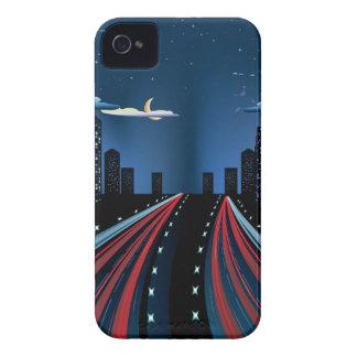 Night City Road Panorama Case-Mate iPhone 4 Case