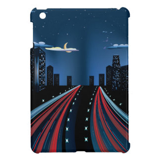 Night City Road Panorama iPad Mini Case