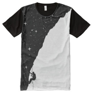 Night climbing All-Over-Print T-Shirt