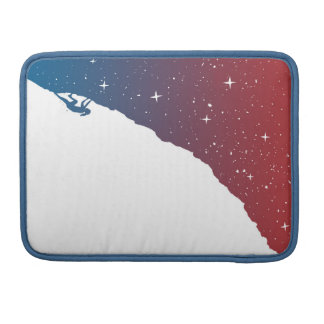 Night climbing II Sleeve For MacBook Pro