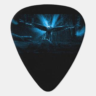 Night Eagle Guitar Pick