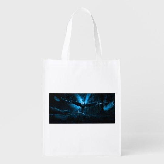 Night Eagle Reusable Grocery Bag