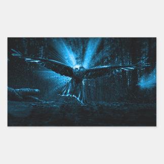 Night Eagle Sticker