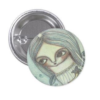 Night fairy 1 inch round button