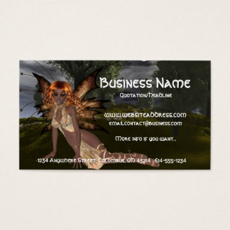 Night Fairy Design 1 - Fantasy Fae Business Cards