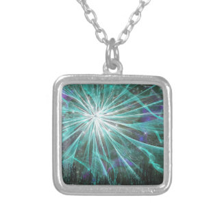 Night Fairy Queen Silver Plated Necklace