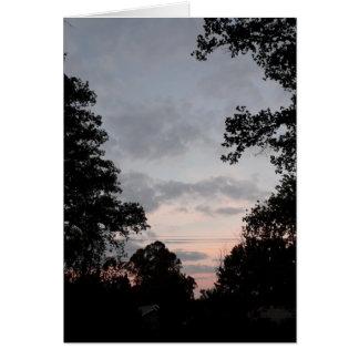 Night Falls Card