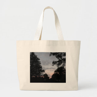Night Falls Large Tote Bag