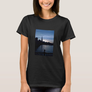 Night Falls On San Francisco Pier T-Shirt