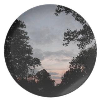Night Falls Plate
