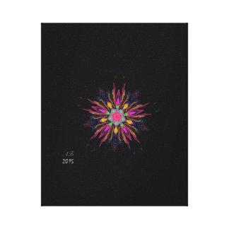 """Night Flower "" Canvas Print"
