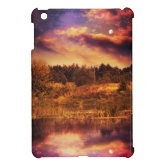 Night Forest and River 3 iPad Mini Cover