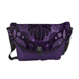 Night Garden Courier Bag