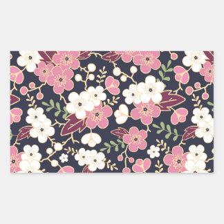 Night Garden Flowers Pattern