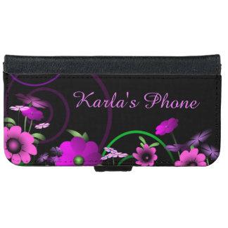 Night Garden iPhone 6 Wallet Case