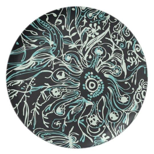 Night Garden Plate