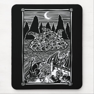 Night-Gaunts Mouse Pad
